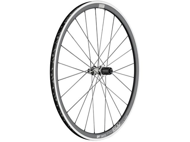 DT Swiss PR 1600 Spline 32 Rear Wheel Alu 130/5mm, black/white
